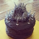 How I Made an Iron Throne Cake